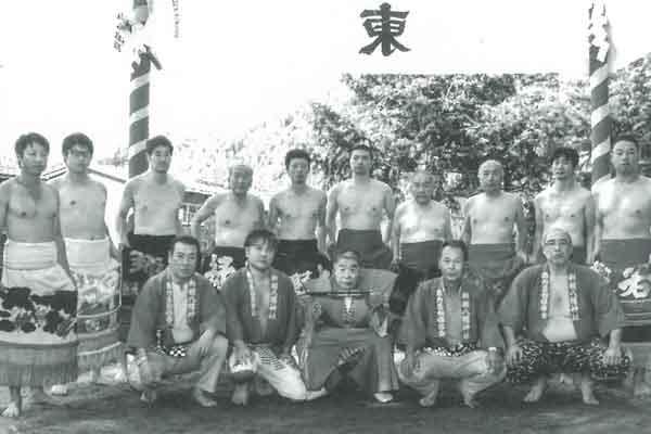 阿曽相撲甚句保存会